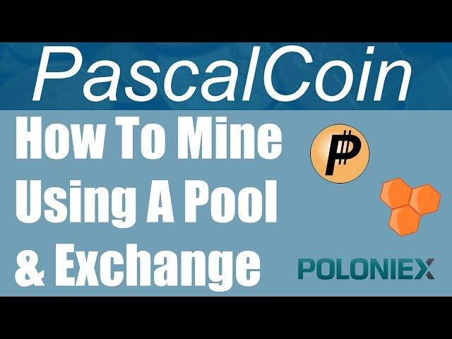 How To Mine PascalCoin On A Pool & Receive Coins Via Poloniex
